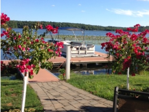 "View from the deck at the ""Boat House"", a great place to eat in Stillwater"