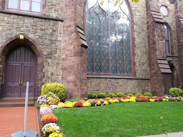 One of the many historical Church buildings in Princeton.