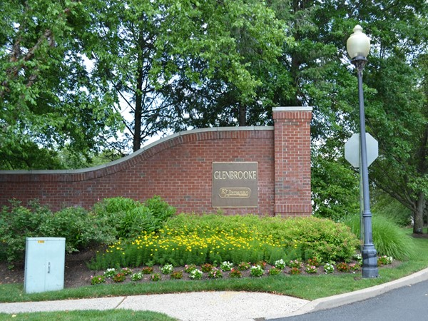 Glenbrooke in Bridgewater is a neighborhood that gives the feeling of private tranquility
