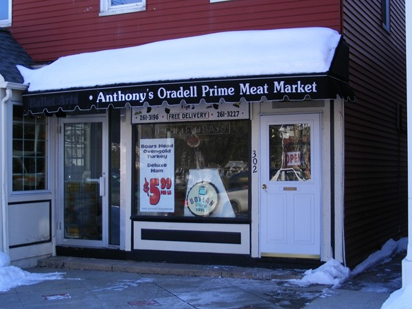 "The ""new to Oradell"" butcher. Anthony's Oradell Prime Meat Market now open."