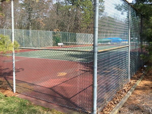 Tennis Court at Princeton Commons