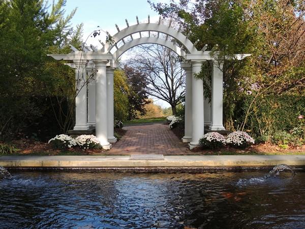 The Rose Garden at the Arboretum