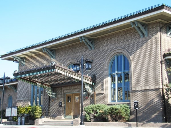 Morristown Historical Train Station was recently remodeled