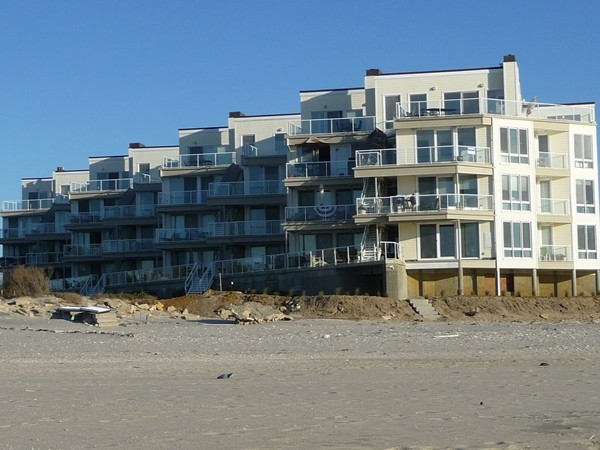 Sea Dunes in North Long Branch sits right on the beachfront