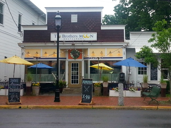 The Brothers Moon restaurant in Hopewell Boro - you'll love the menu and decor