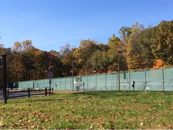 Get Your Tennis Game On at the Tennis Courts on Old Mill Rd