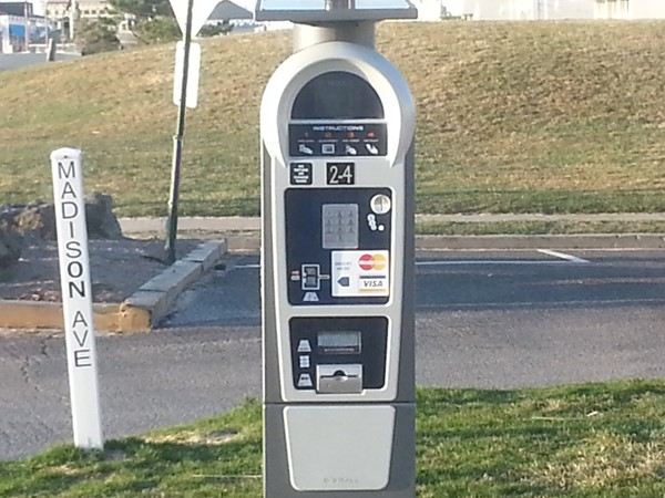 Metered parking will go into effect along the Long Branch beachfront on May 1st, 2015