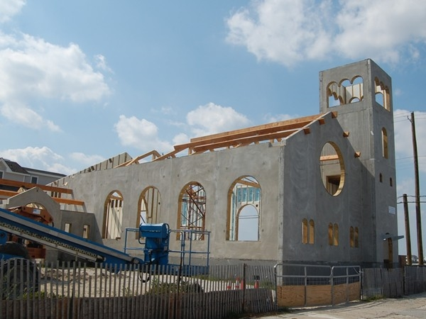 Rebuilding the Church of the Redeemer