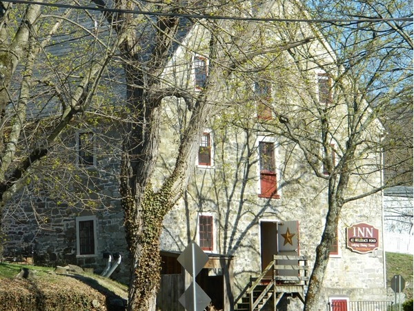 The Inn at Millrace Pond - enjoy local dining in a 1769 Moravion Grist Mill