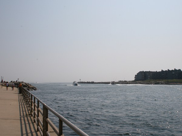 Nearby Manasquan Inlet