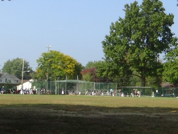 Baseball field at Community Center Park