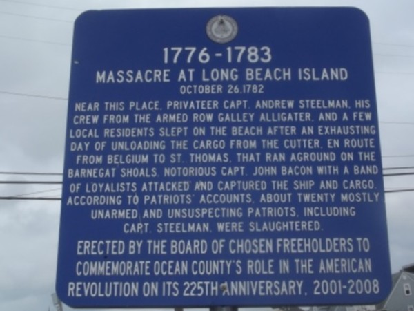The Jersey Shore, rich in American History