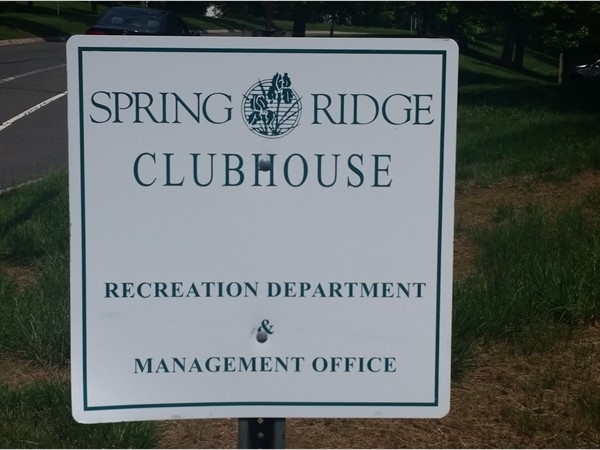 The Spring Ridge development has its own clubhouse