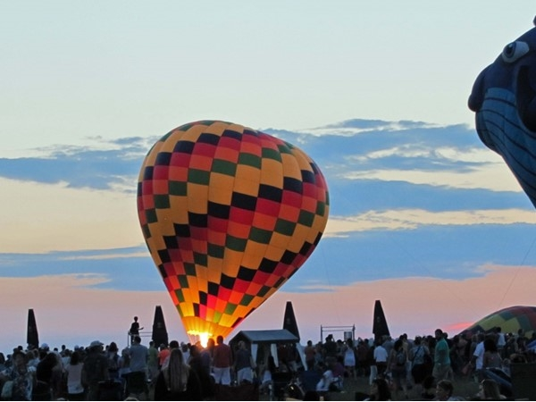 Balloon Fest 2015 launch