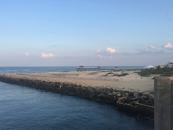 View from the Avon Bridge looking at Inlet and Belmar