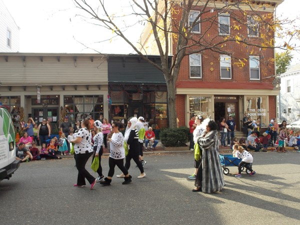 The Halloween Parade in Bordentown City