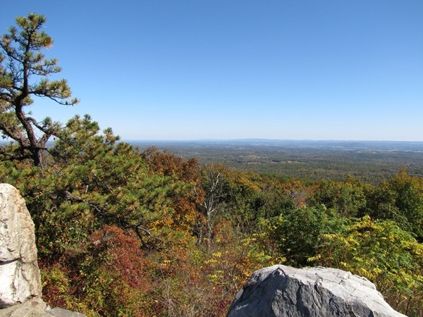 Views from High Point State Park site
