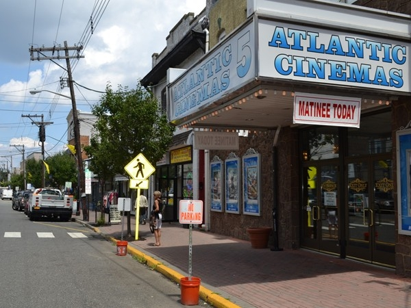 Take a walk into downtown Atlantic Highlands and catch a movie at Atlantic Cinemas
