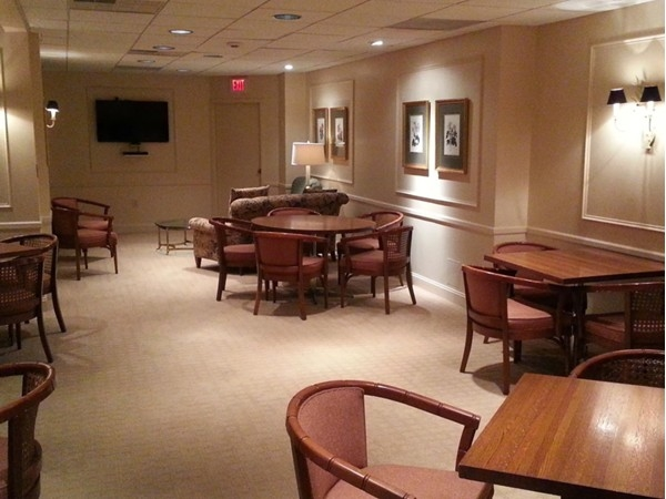 The Social Room can be reserved for private parties