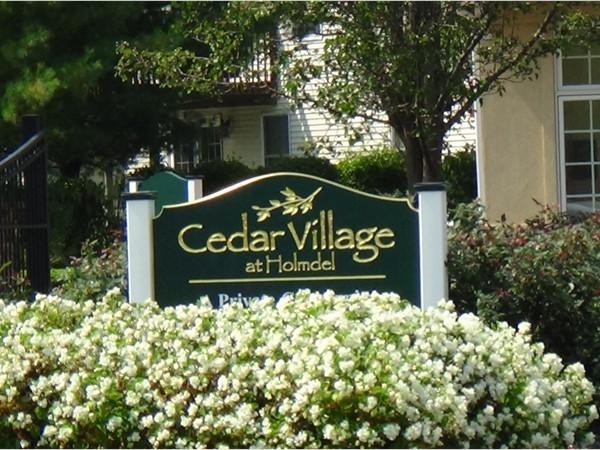 Welcome to Cedar Village, a Condo Community in Holmdel, NJ