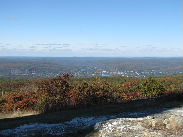 Spectacular views from the top of High Point State Park