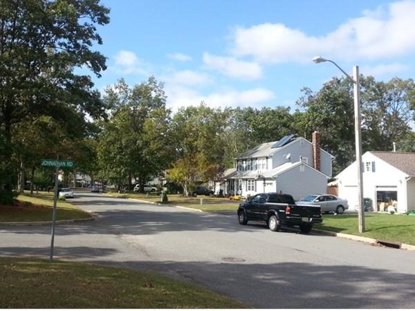 An attractive street in Holly Oaks Development