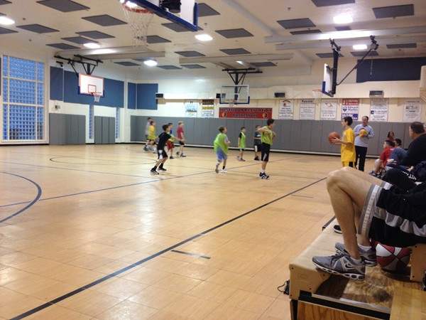The Westwood Community center gym is used for many town activities
