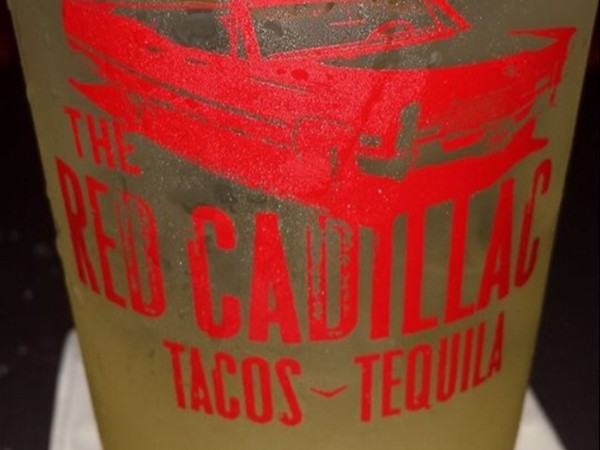 The Red Cadillac restaurant and bar. Delicious drinks and food with a great atmosphere!
