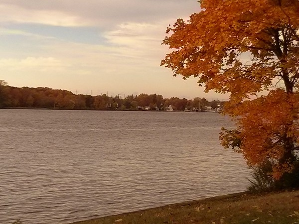 Delaware River viewed from Delanco