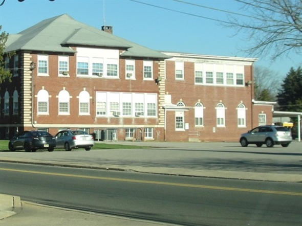 The Manalapan- Englishtown Regional School District Headquarters on Main Street