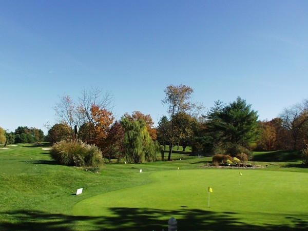 River Vale Country Club practice green