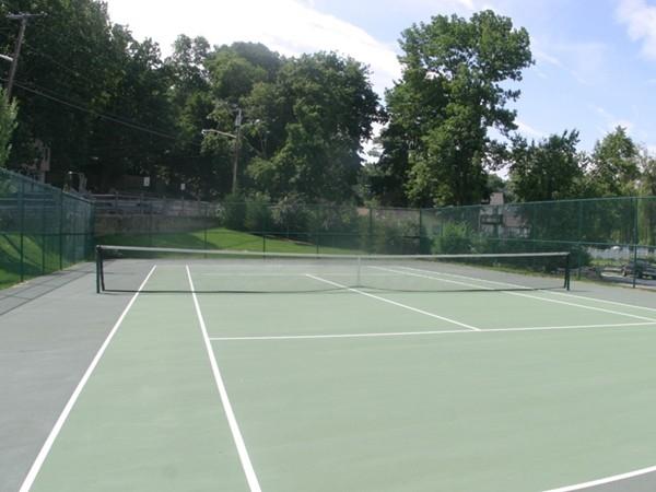 Lake Shore Village tennis court