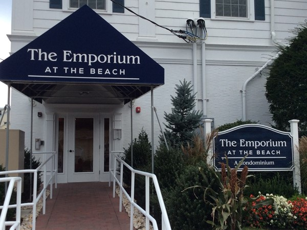 Entrance to The Emporium at the Beach