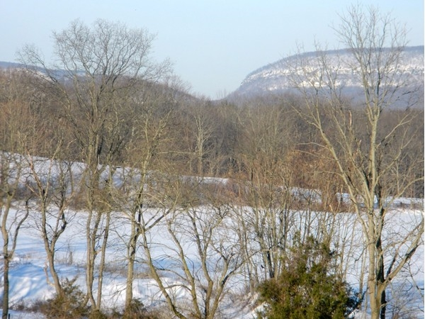 The Delaware Water Gap off in the distance