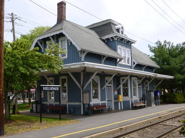 Hillsdale Train Station located on the Pascack Valley Line for easy commute to New York City.
