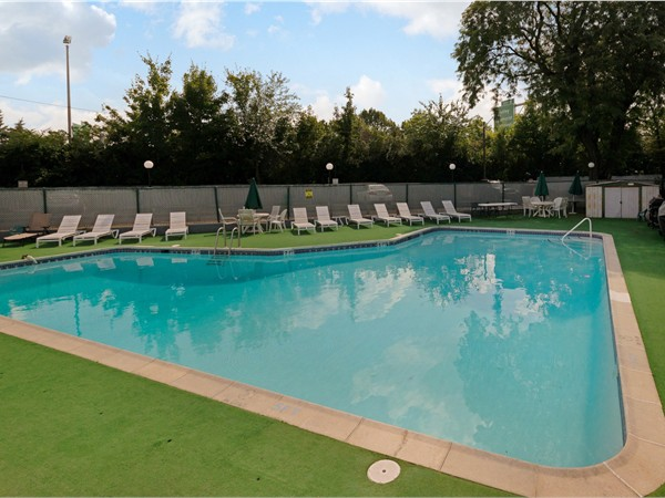 The Regency Condo complex in Nutley offers an in-ground pool for its residents