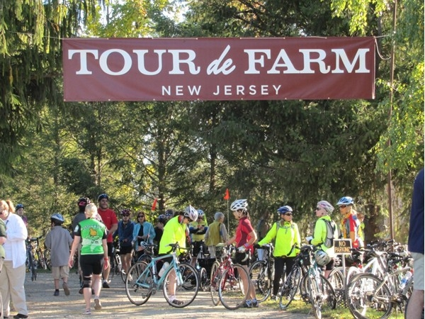 Starting point for Tour de Farm