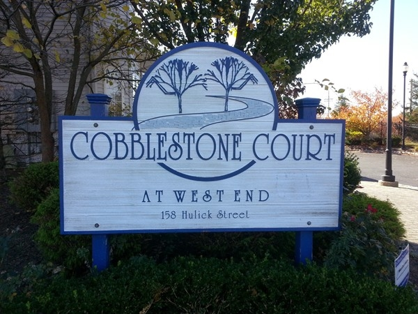 Cobblestone Court in West End Long Branch is a community of 8 two bedroom, 1.5 bath townhouses