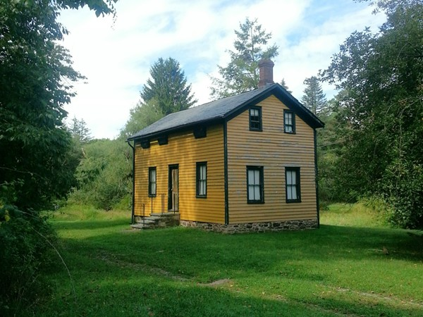 A little yellow school house