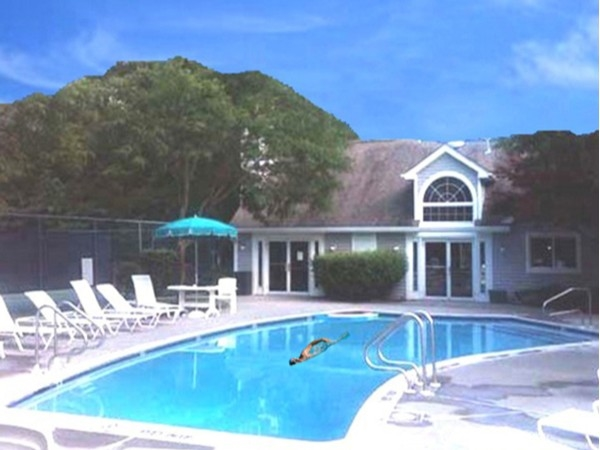 Montville Chase community pool