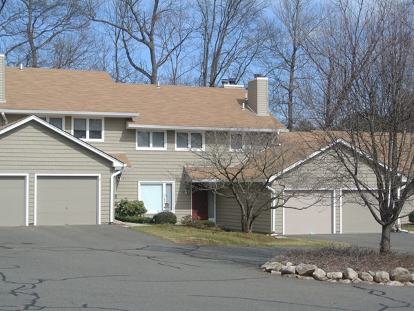 Townhomes with attached garage