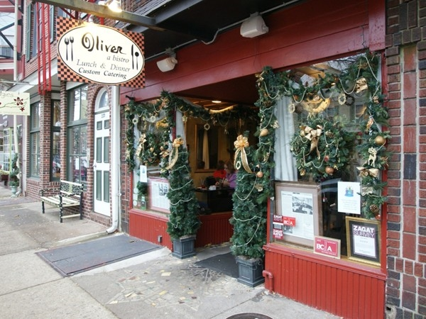 Oliver is a restaurant with great food and terrific atmosphere, in the heart of downtown Bordentown.