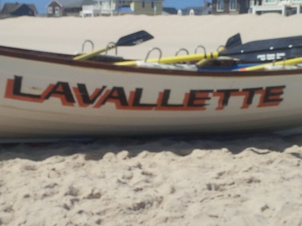 A Lavallettte lifeboat ready to go