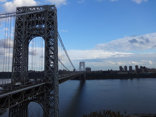 George Washington Bridge - The busiest motor vehicle bridge in the world