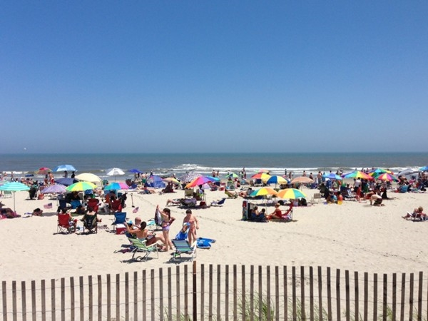 Another beautiful beach day in Sea Isle City