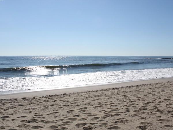Fresh salt air, sand, surf and lots of sunshine