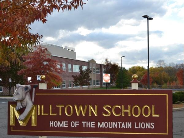 Milltown Elementary School  is located at 611 Milltown Road in Bridgewater