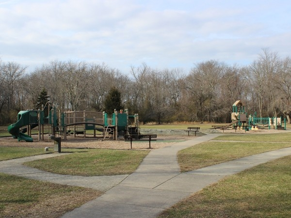 Playground and ball fields