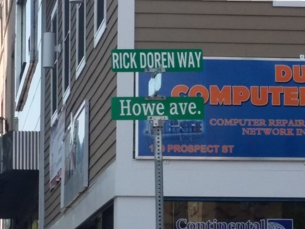 Rick Doren Way was named after the man who helped redevelop Passaic