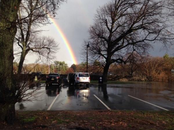 Rainbow over Brookdale Park